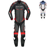 Spidi Track Wind Pro 1-Piece Leather Motorcycle Suit