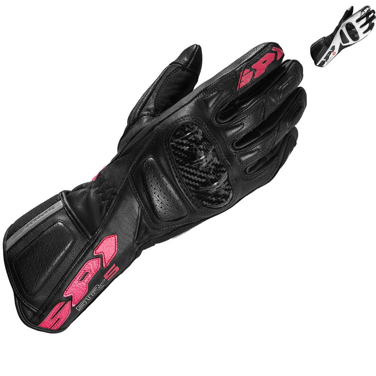 Spidi STR-5 CE Ladies Leather Motorcycle Gloves