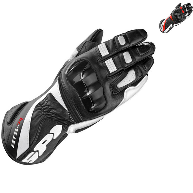 Spidi STS-R Ladies Leather Motorcycle Gloves
