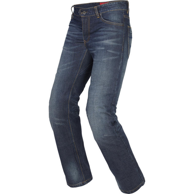 Spidi J-Strong Used Dark Blue Motorcycle Jeans