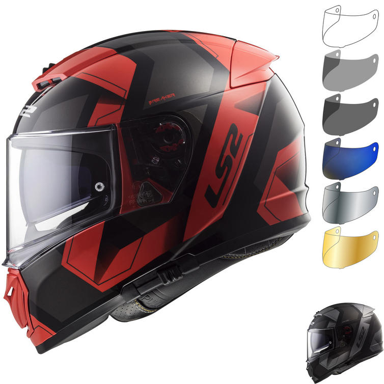 LS2 FF390 Breaker Physics Motorcycle Helmet & Visor