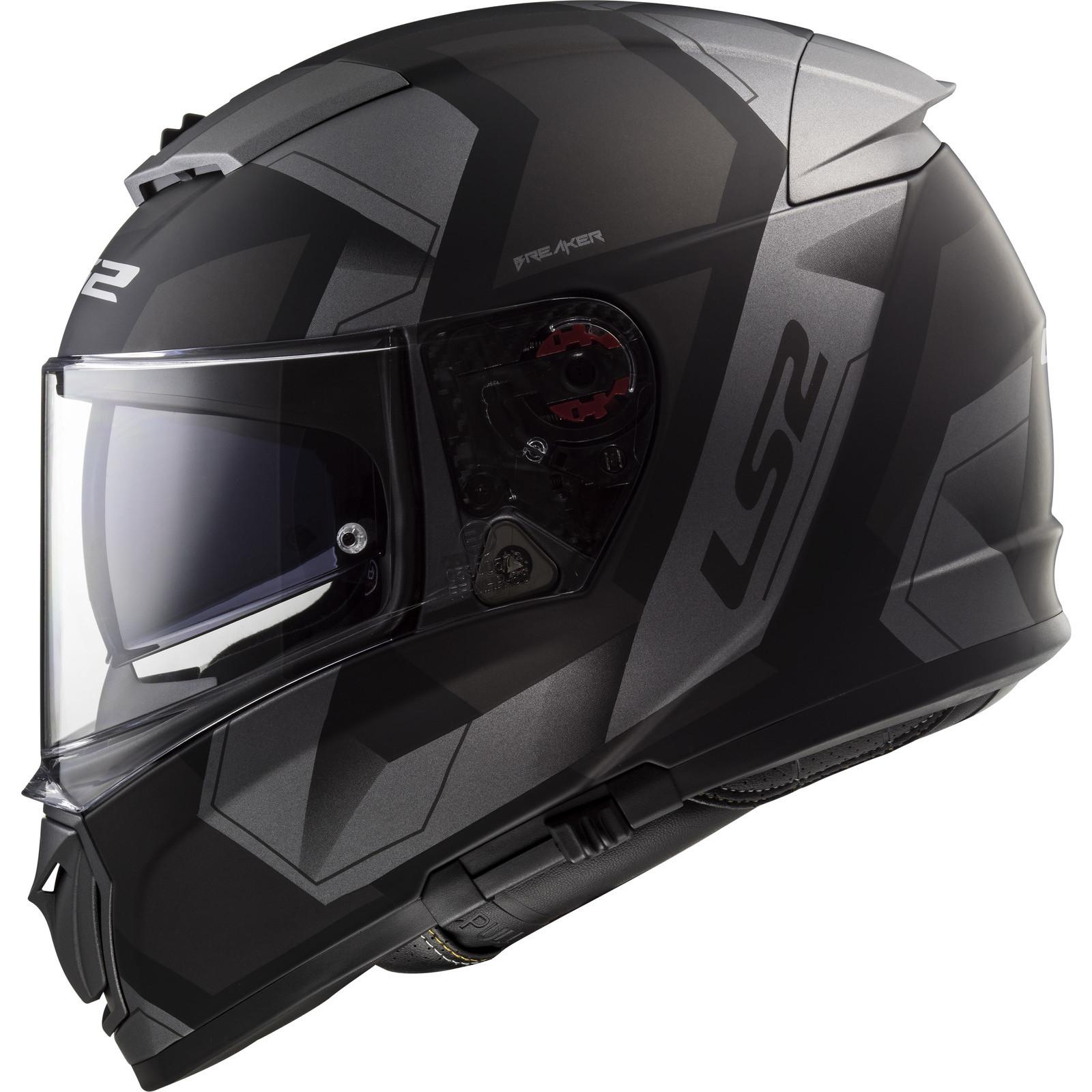666d5ca6 LS2 FF390 Breaker Physics Motorcycle Helmet & Visor Motorbike Full ...