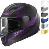 LS2 FF320 Stream Evo Lux Motorcycle Helmet & Visor