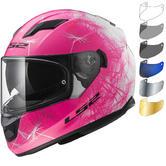 LS2 FF320 Stream Evo Wind Motorcycle Helmet & Visor