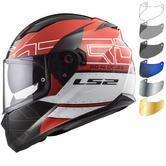 LS2 FF320 Stream Evo Kub Motorcycle Helmet & Visor