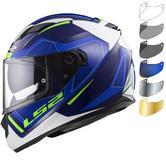 LS2 FF320 Stream Evo Axis Motorcycle Helmet & Visor