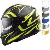 LS2 FF320 Stream Evo Jink Motorcycle Helmet & Visor