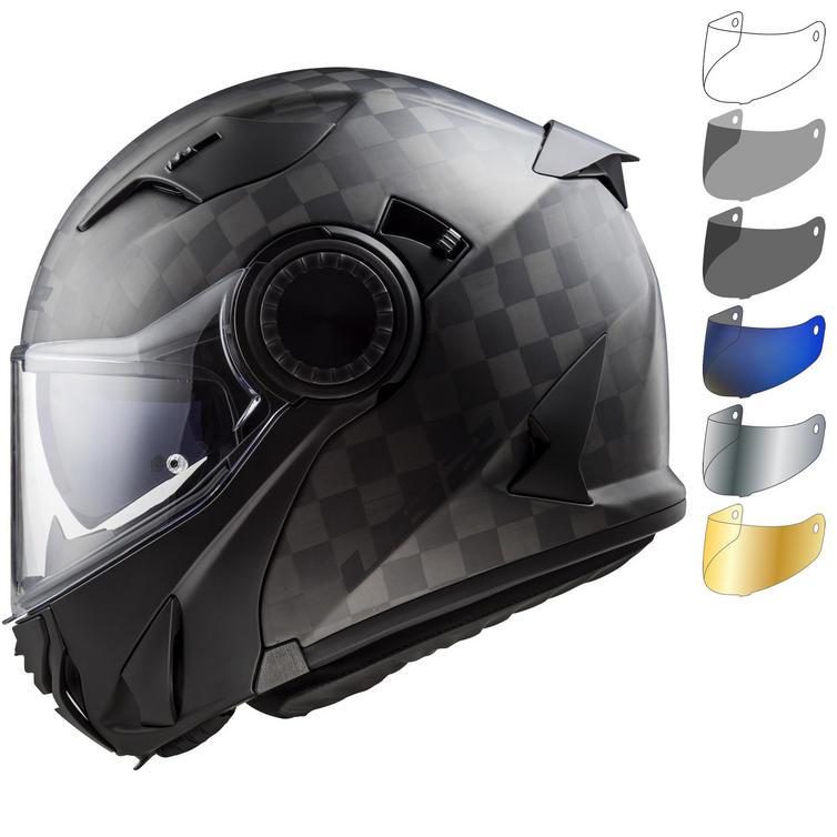 LS2 FF313 Vortex Solid Motorcycle Helmet & Visor
