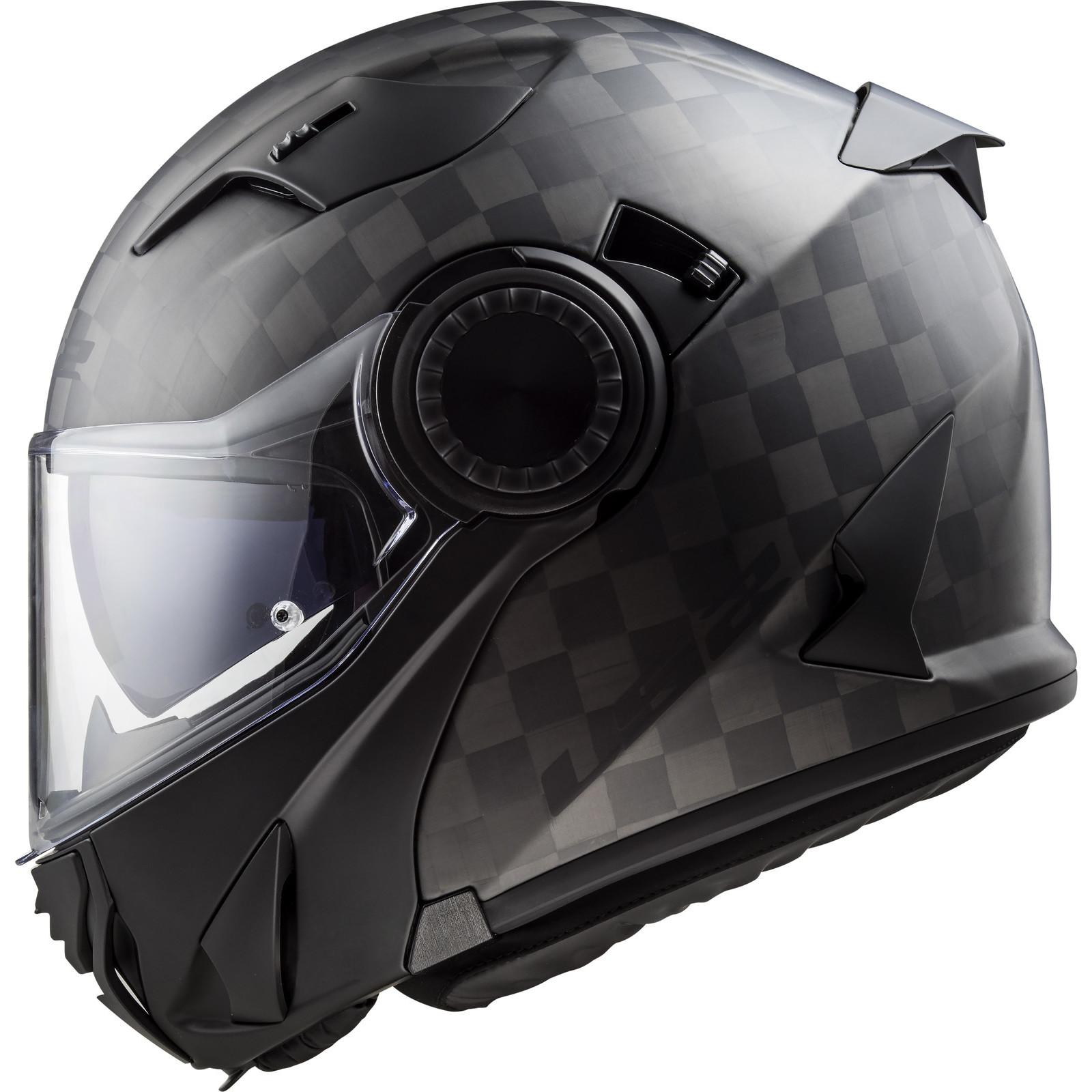 Ls2 Ff313 Vortex Solid Motorcycle Helmet Free Visor Crash