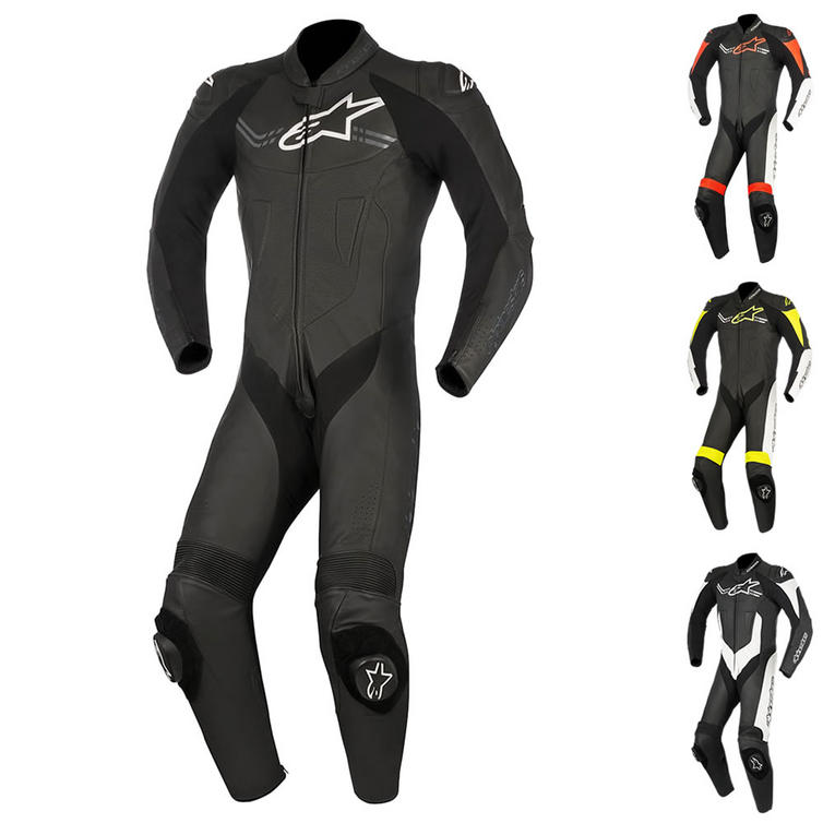 Alpinestars Challenger v2 1 Piece Leather Motorcycle Suit