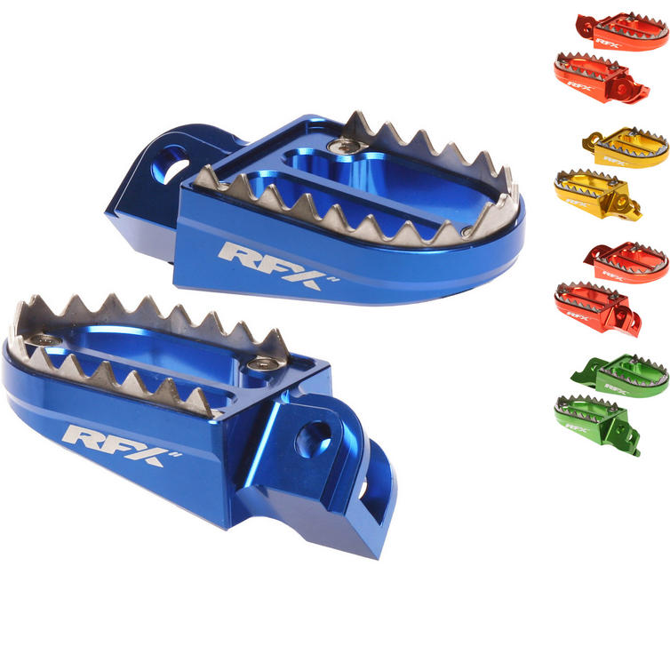 RFX Pro Series 2 Shark Teeth Footrests