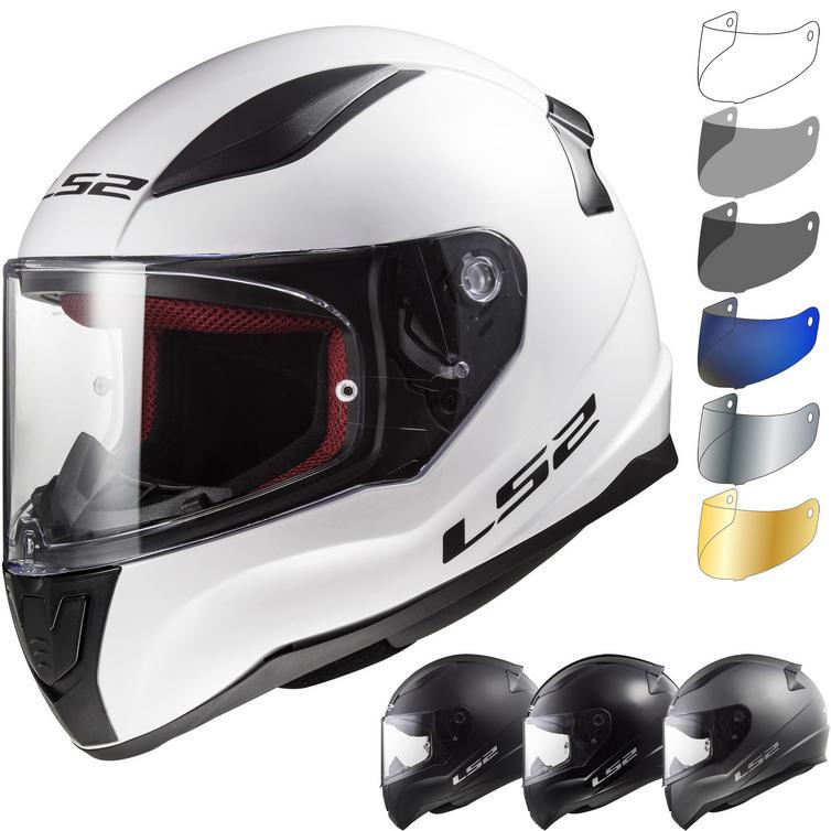 LS2 FF353 Rapid Solid Motorcycle Helmet & Visor