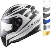 LS2 FF353 Rapid Carborace Motorcycle Helmet & Visor