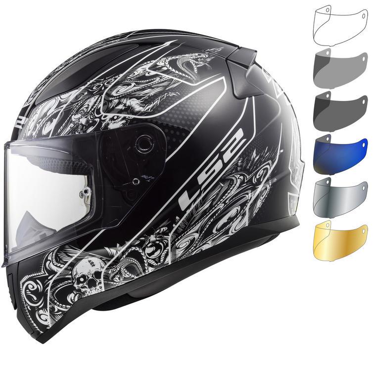 LS2 FF353 Rapid Crypt Motorcycle Helmet & Visor