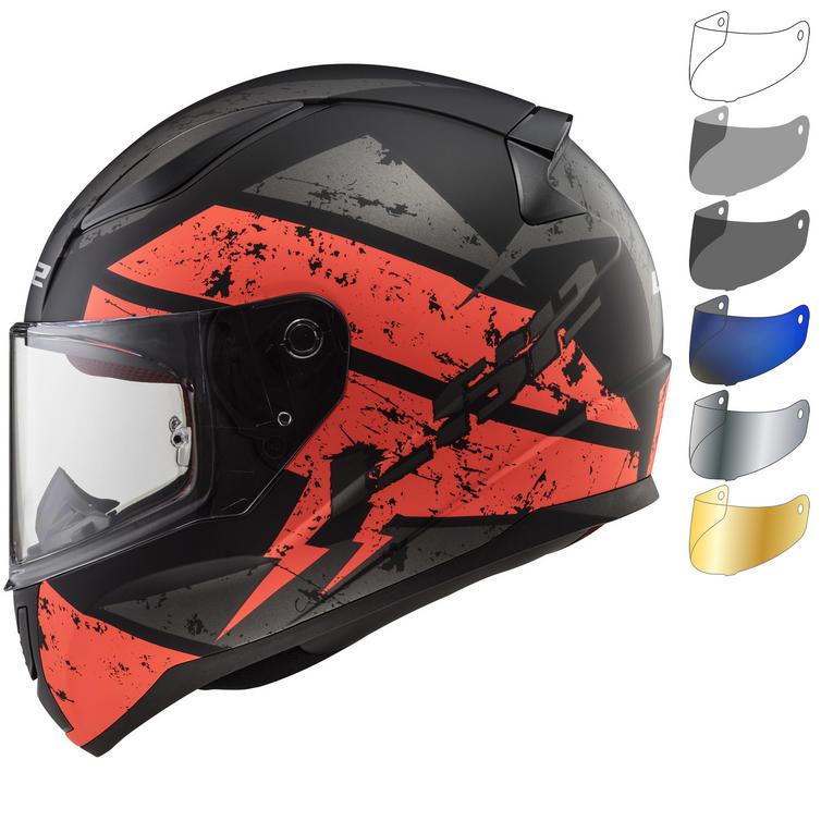 LS2 FF353 Rapid Deadbolt Motorcycle Helmet & Visor