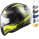 LS2 FF353 Rapid Carrera Motorcycle Helmet & Visor