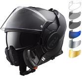 LS2 FF399 Valiant Noir Motorcycle Helmet & Visor