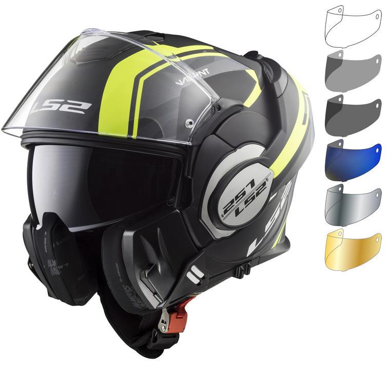 LS2 FF399 Valiant Line Motorcycle Helmet & Visor