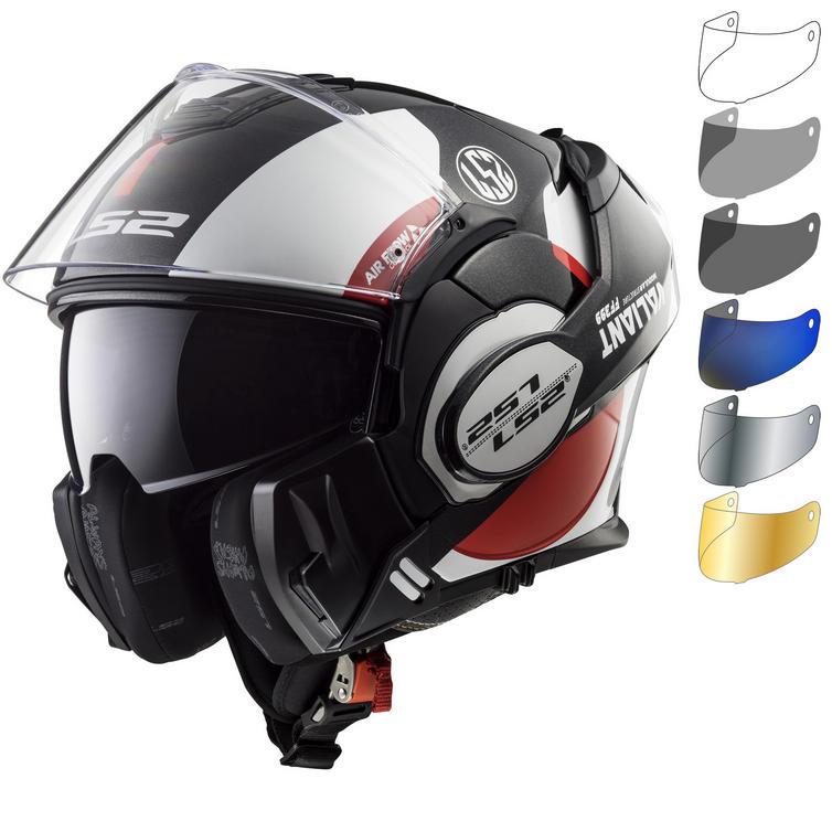 LS2 FF399 Valiant Avant Motorcycle Helmet & Visor