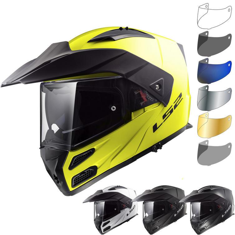 LS2 FF324 Metro Evo Solid Flip Front Motorcycle Helmet & Visor