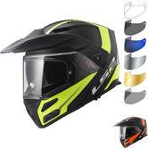 LS2 FF324 Metro Evo Rapid Flip Front Motorcycle Helmet & Visor