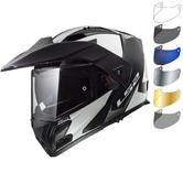 LS2 FF324 Metro Evo Sub Flip Front Motorcycle Helmet & Visor