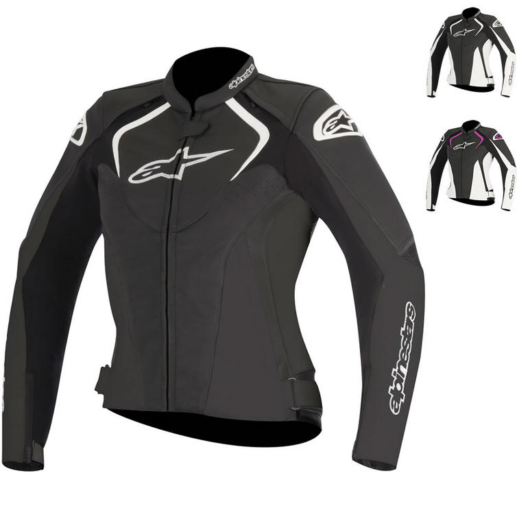 Alpinestars Stella Jaws Leather Motorcycle Jacket