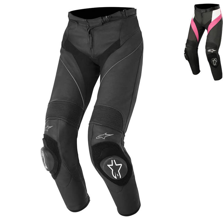 Alpinestars Stella Missile Leather Motorcycle Trousers