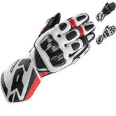 Spidi Carbo 1 Leather Motorcycle Gloves