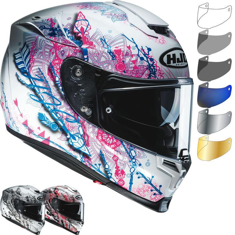 HJC RPHA 70 Hanoke Ladies Motorcycle Helmet & Visor