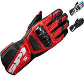 Spidi STR-5 Leather Motorcycle Gloves