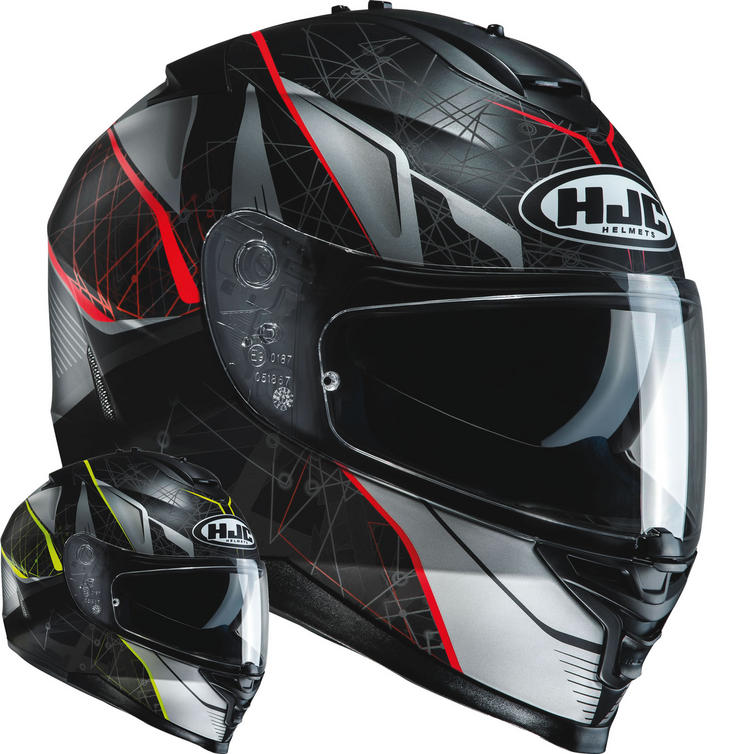 HJC IS-17 Daugava Motorcycle Helmet