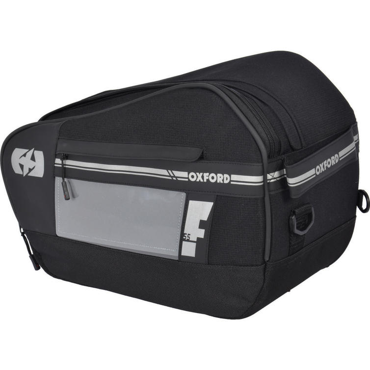 Oxford F1 P55 Panniers Large 55L Black (Pair)