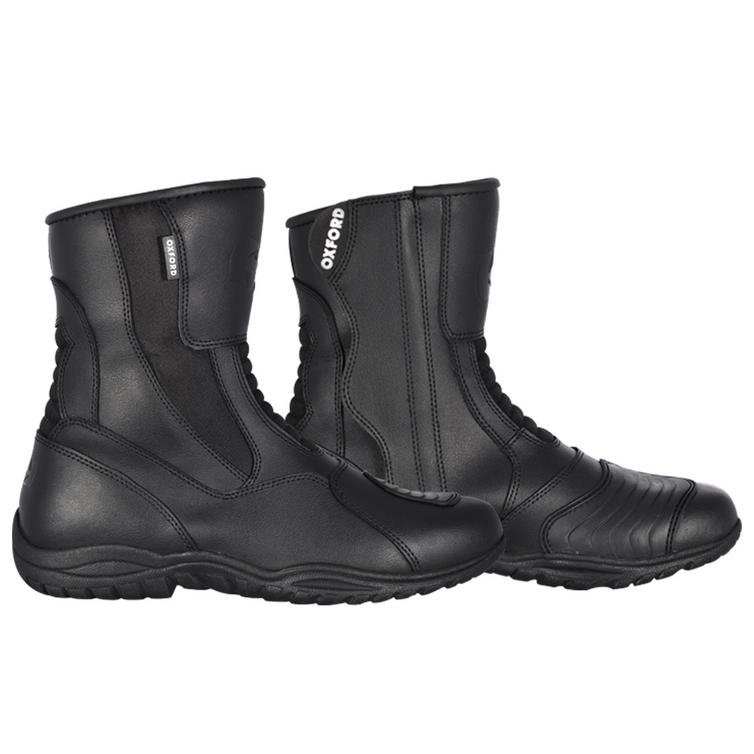 Oxford Hunter Leather Motorcycle Boots