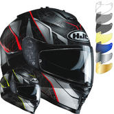 HJC IS-17 Daugava Motorcycle Helmet & Visor