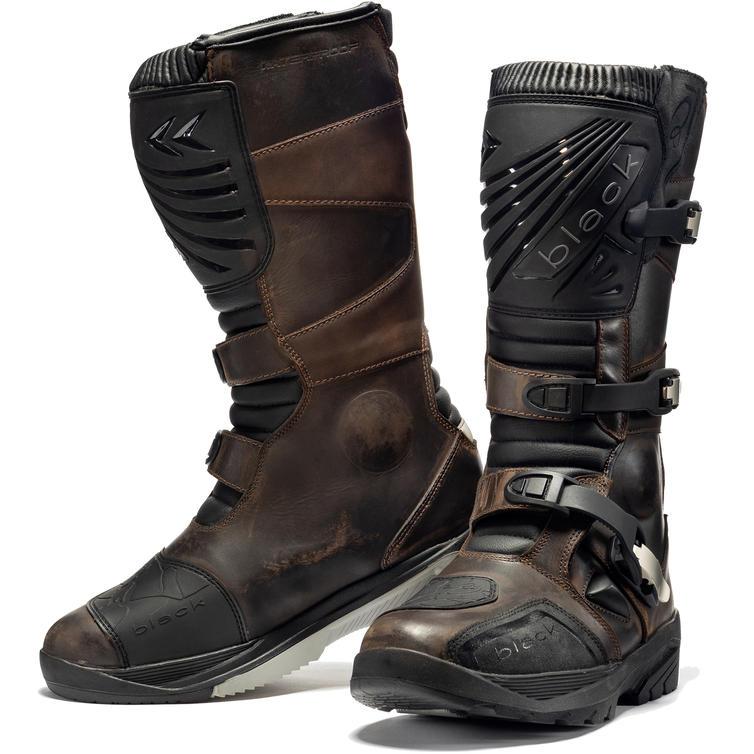 Black Rebel Adventure Motorcycle Boots