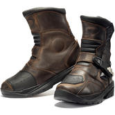 Black Rogue Adventure Mid Motorcycle Boots