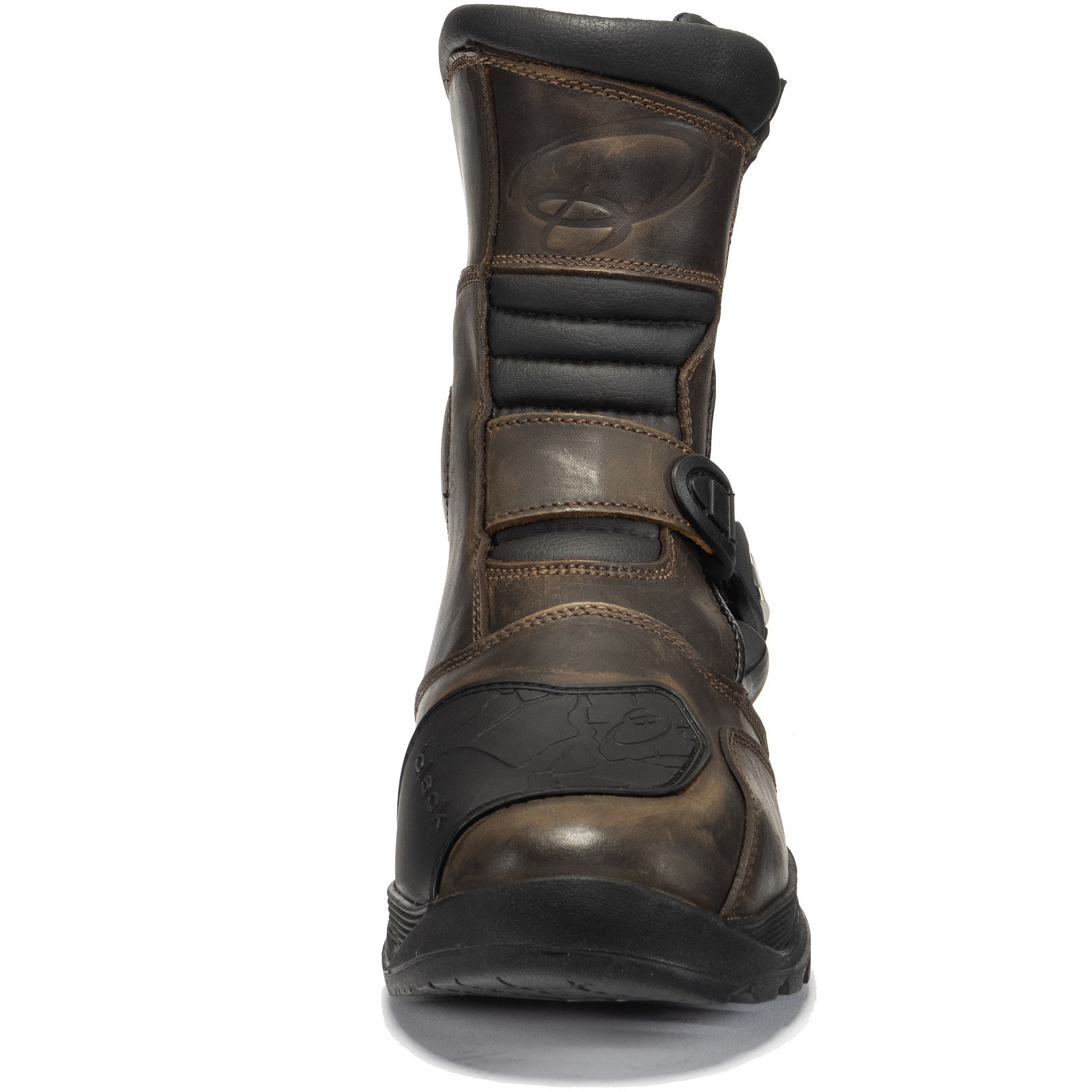 597e366c2ba Details about Black Rogue Adventure Mid Waterproof Motorcycle Boots Touring  Leather Motorbike