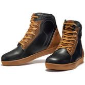 Black Streetwise Ankle Motorcycle Boots