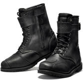 Black Heritage Ankle Motorcycle Boots