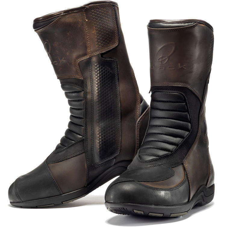 Black Freelander WP Touring Motorcycle Boots