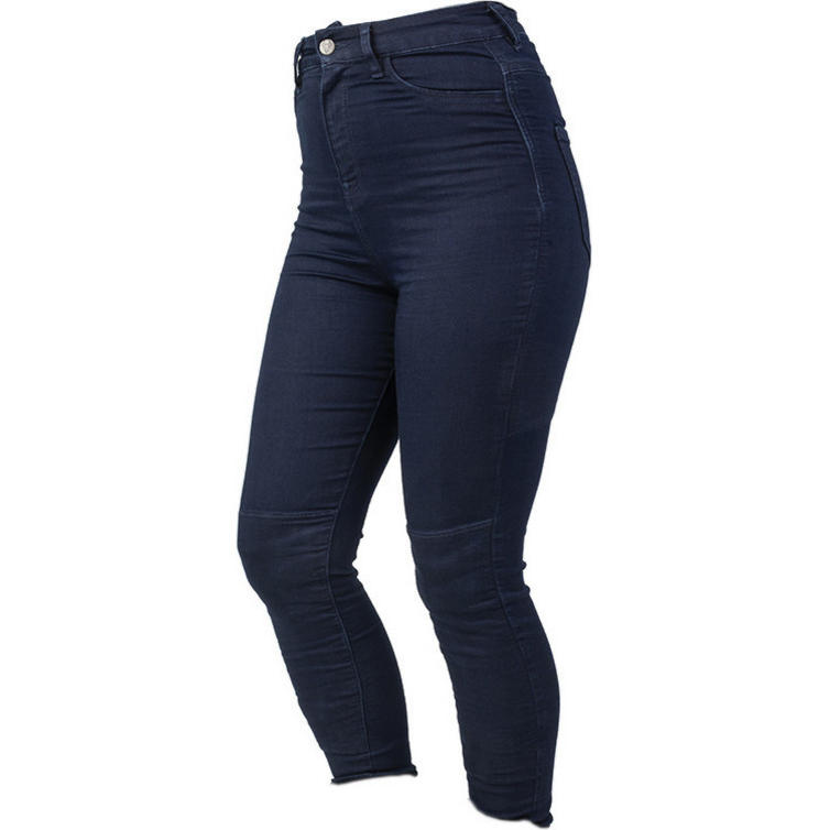 Bull-It SP120 LITE Fury 17 Blue Ladies Motorcycle Jeggings