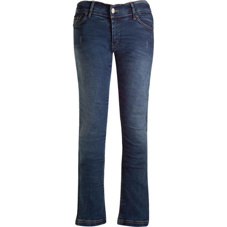 Bull-It SR6 Vintage 17 Straight Fit Blue Ladies Motorcycle Jeans