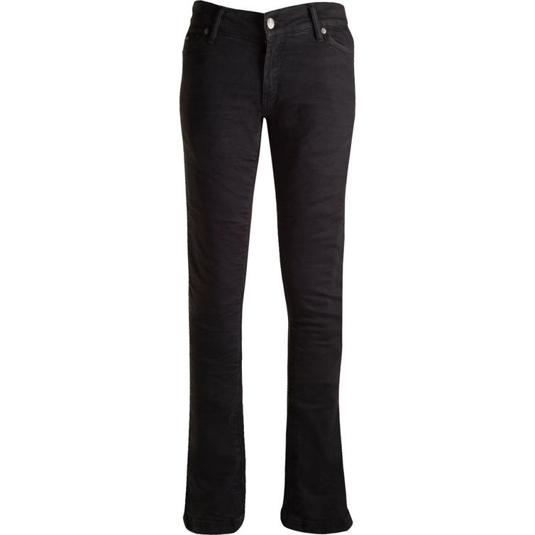 Bull-It SR6 Ebony 17 Slim Fit Blue Ladies Motorcycle Jeans