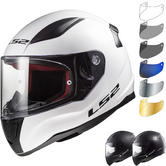 LS2 FF353J Rapid Mini Solid Youth Motorcycle Helmet & Visor