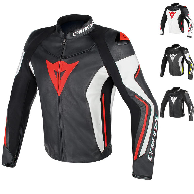 Dainese Assen Leather Motorcycle Jacket