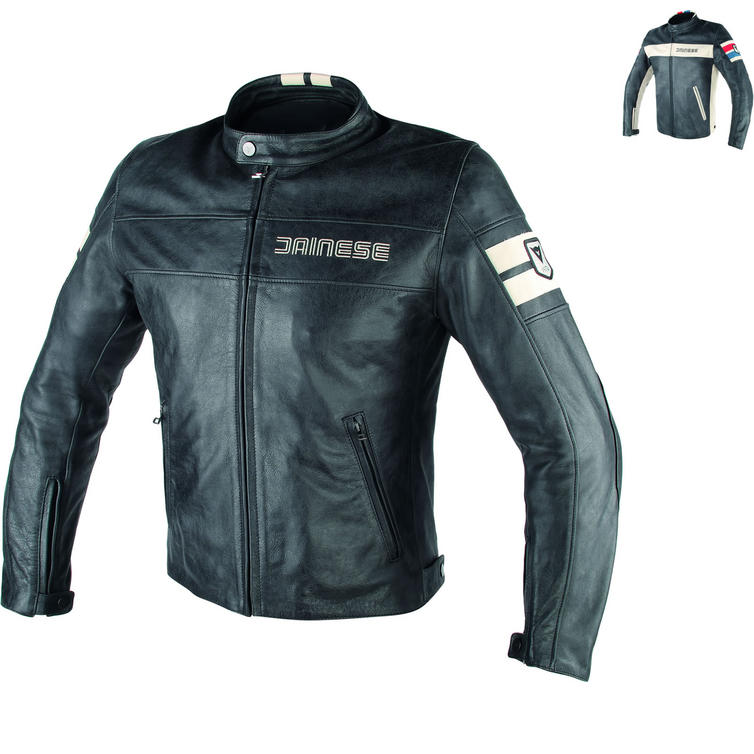 Dainese HF D1 Leather Motorcycle Jacket