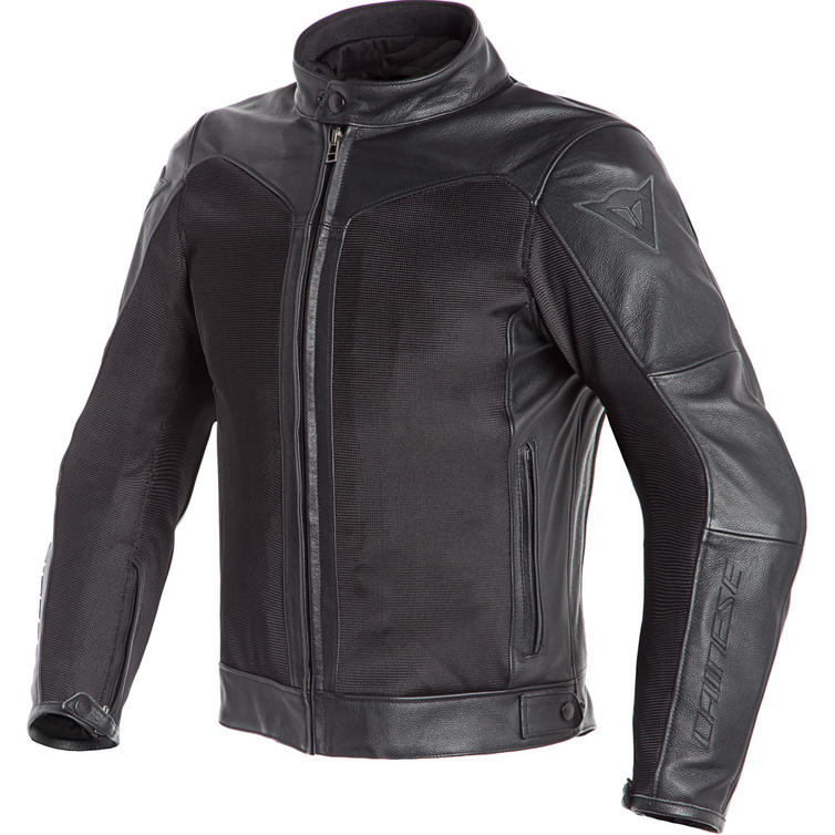 Dainese Corbin D-Dry Leather Motorcycle Jacket