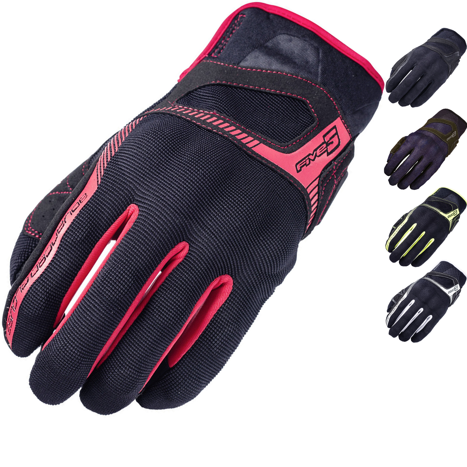 Five-RS3-Motorcycle-Gloves-Motorbike-Bike-Armour-Urban-Touch-Screen-GhostBikes thumbnail 2