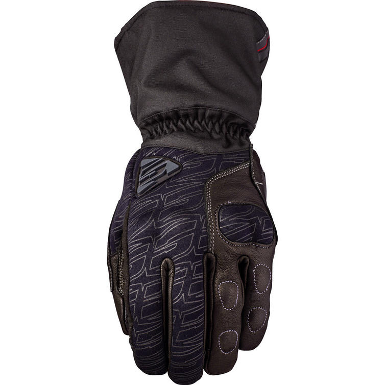 Five WFX Tech Leather Motorcycle Gloves